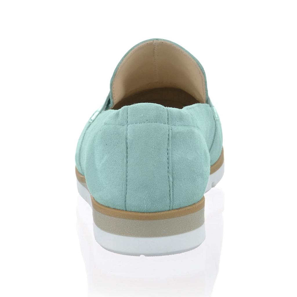 Alba Moda Slipper, aus weichem Leder