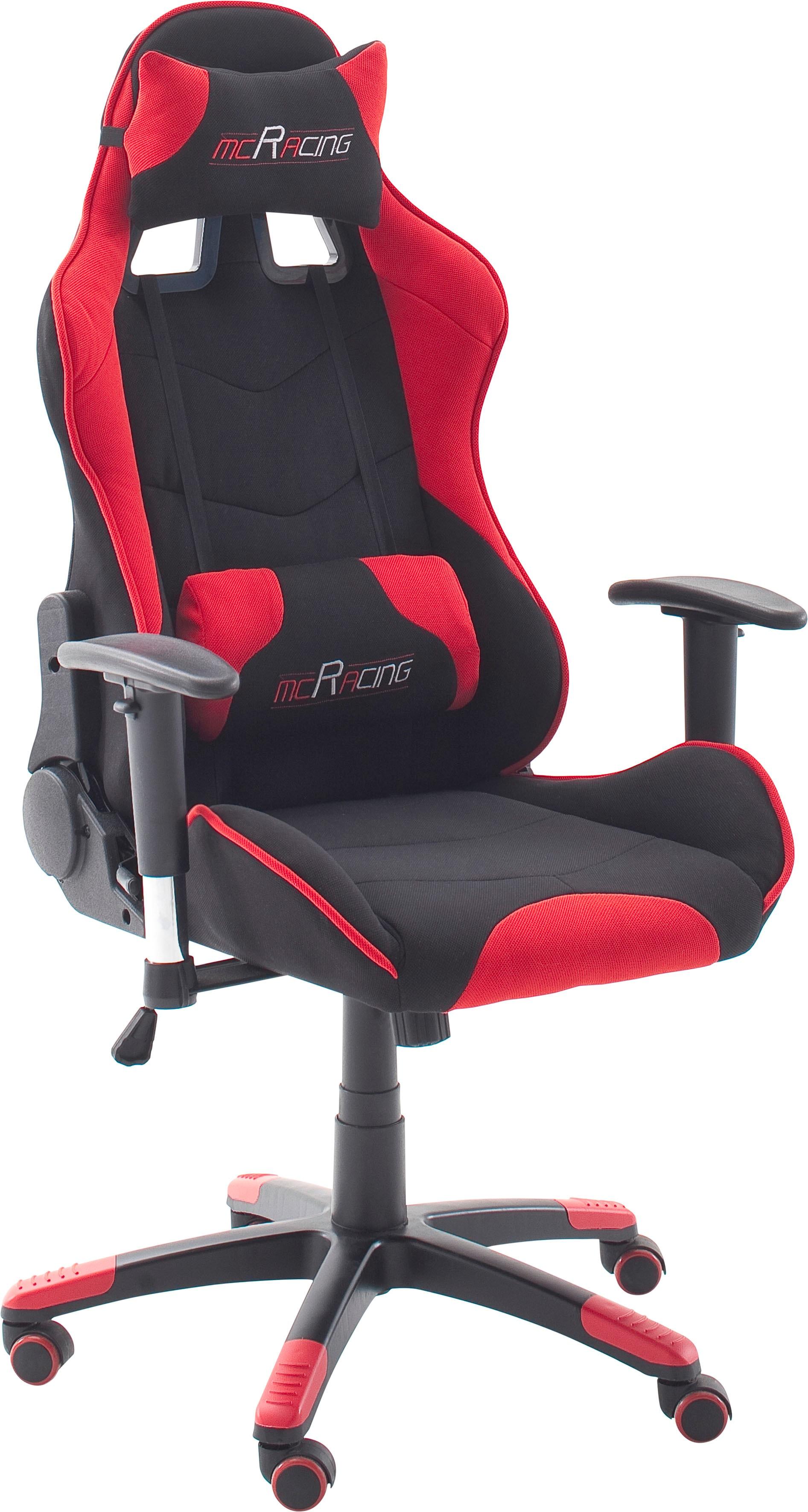 MCA furniture Gaming Chair MC Racing Gaming-Stuhl rot Gaming-Zubehör Gaming-Shop Stühle