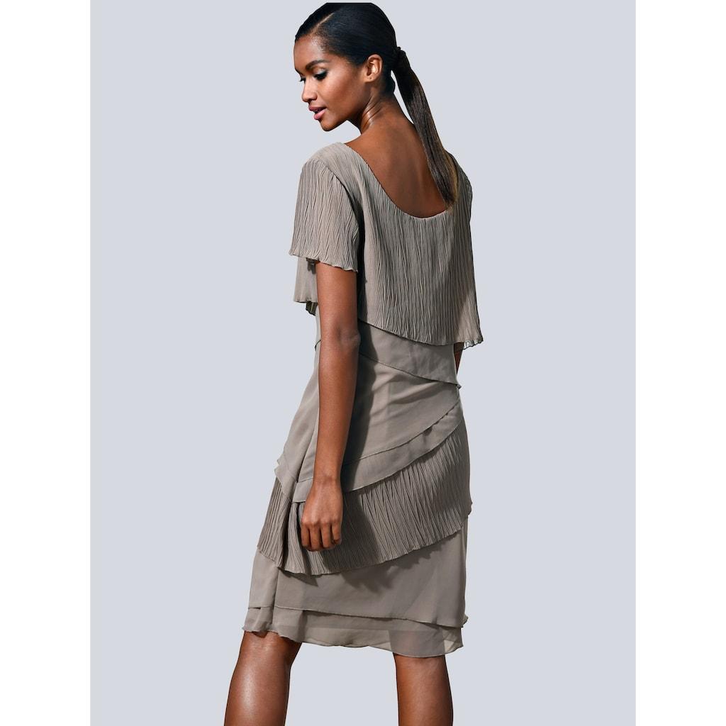 Alba Moda Kleid in modischem Lagenlook