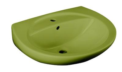 CORNAT Waschbecken »Moosgrün«, mit Überlauf, grün kaufen