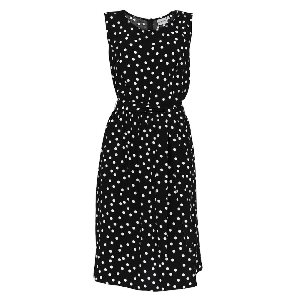 Finn Flare Jerseykleid, mit hübschem Punktemuster