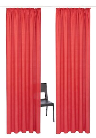 Vorhang, »Luna«, my home, Kräuselband 2 Stück kaufen