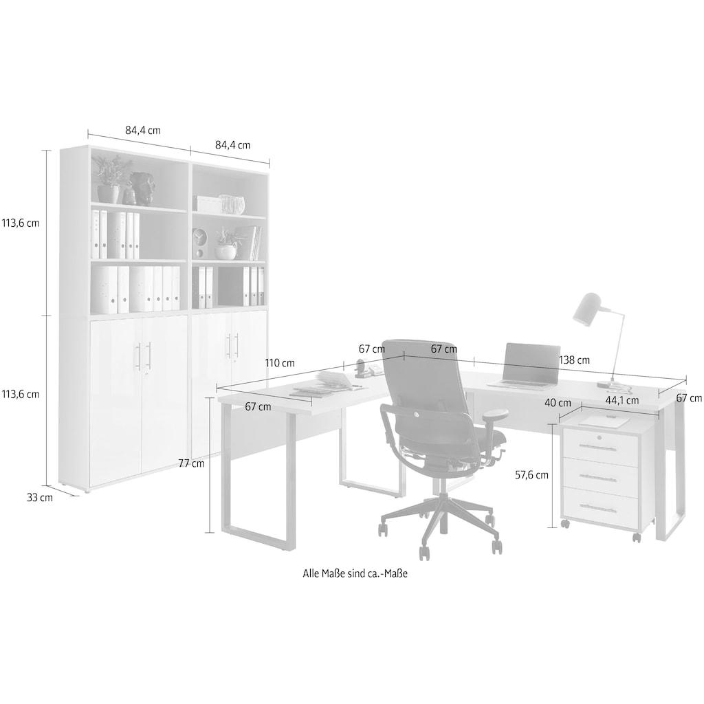 BMG Büromöbel-Set »Tabor«, (Set, 6 St.)