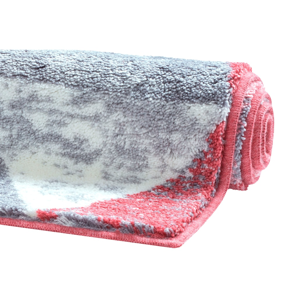 GRUND exklusiv Badematte »Curati«, Höhe 20 mm, rutschhemmend beschichtet, strapazierfähig, weiche Haptik