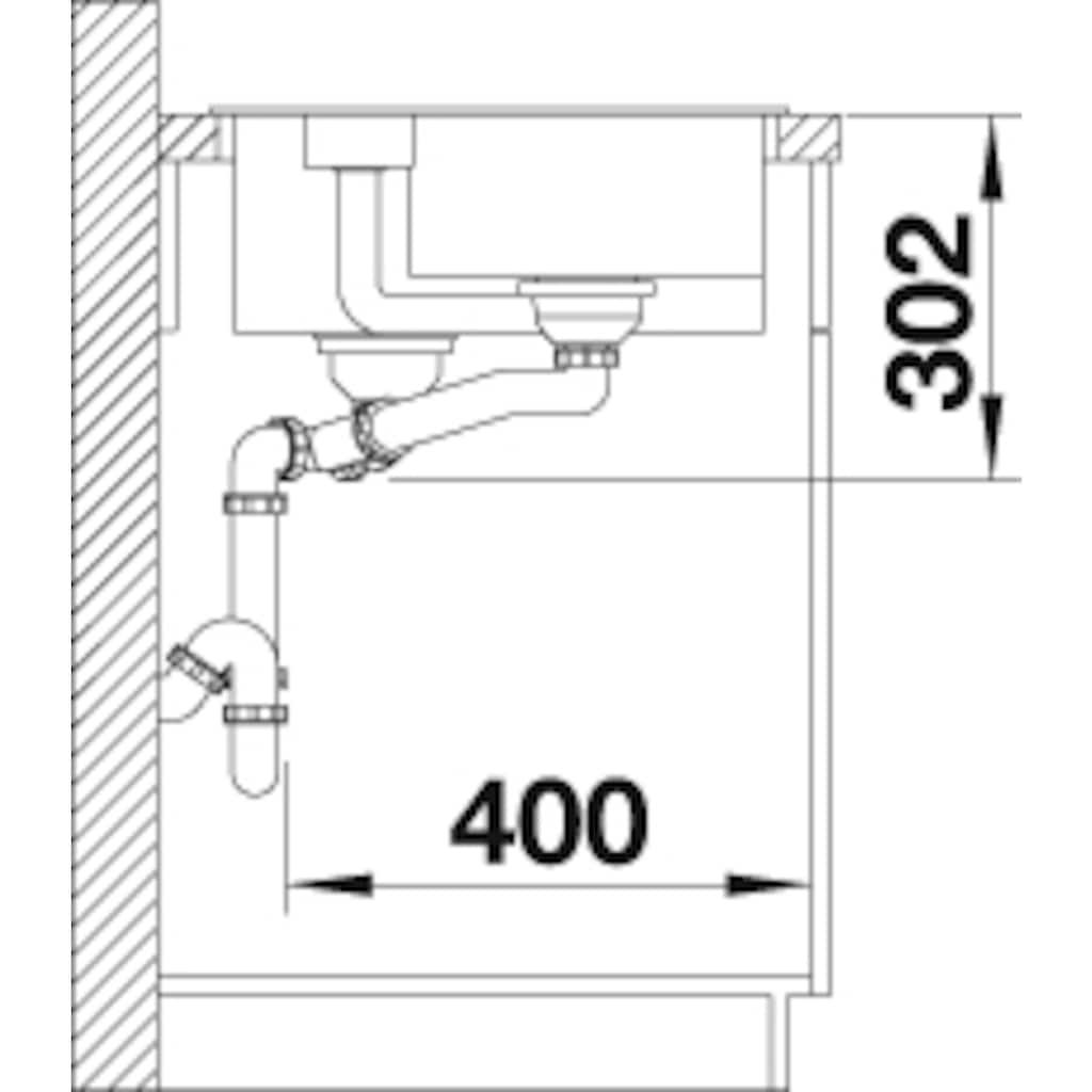 Blanco Granitspüle »COLLECTIS 6 S«, aus SILGRANIT®