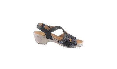 Sandalette mit Leder - Wechselfußbett kaufen