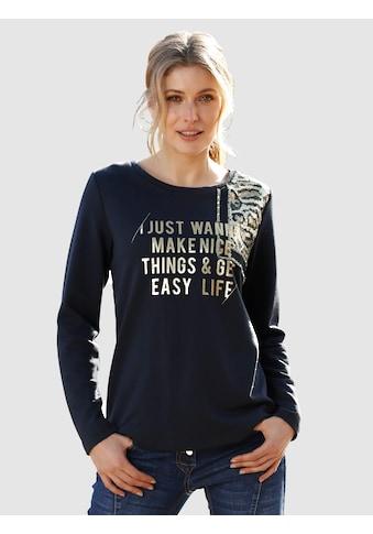 Laura Kent Sweatshirt, mit goldfarbenen Akzenten kaufen