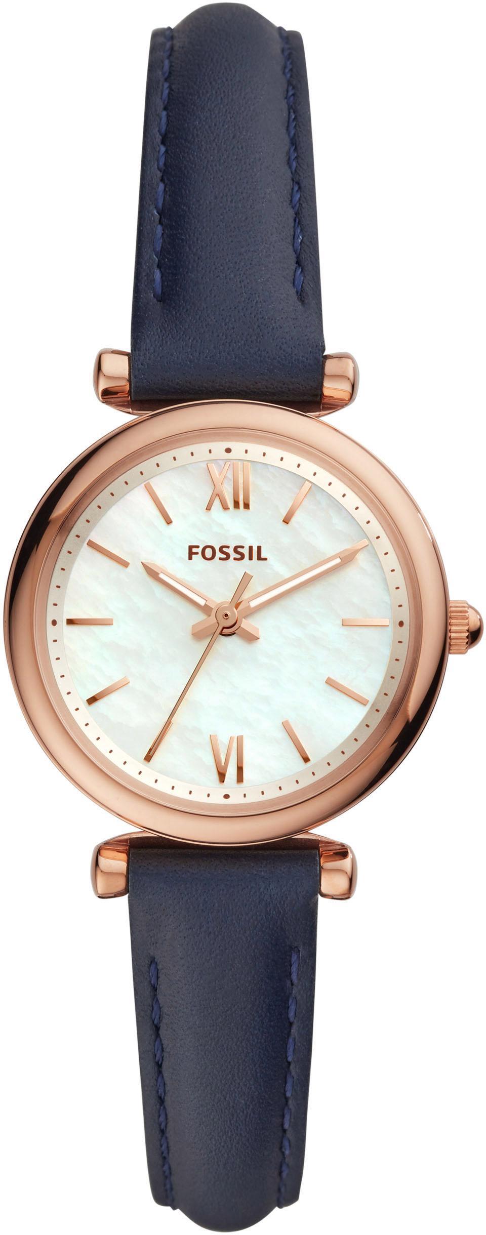 Fossil Quarzuhr CARLIE ES4502 | Uhren > Quarzuhren | Blau | Fossil