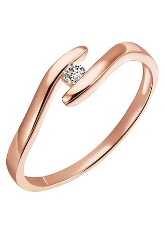 Firetti Diamantring »Solitär, ca. 1,76 mm breit, Spannfasung, Glanz, massiv«, mit... kaufen