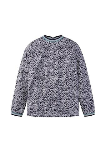 TOM TAILOR Shirtbluse »Gemusterte Bluse« kaufen
