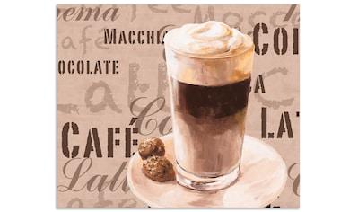 Artland Küchenrückwand »Kaffee - Latte Macchiato«, selbstklebend in vielen Größen -... kaufen