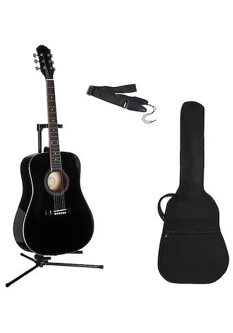 Westerngitarre »4/4 Westerngitarre mit Zubehör«, 4/4 kaufen