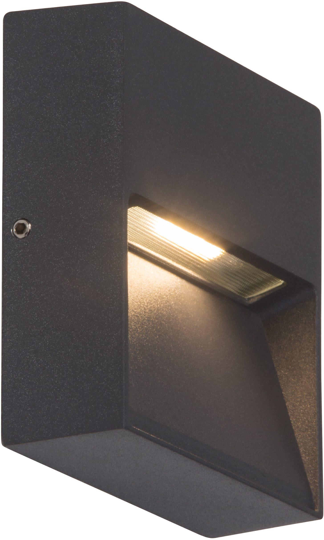 AEG Leuchten LED Außen-Wandleuchte FRONT, selbstreinigend
