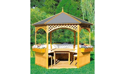 PROMADINO Holzpavillon »Palma«, BxT: 326x326 cm kaufen