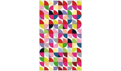 MySpotti Fensterfolie »Look Retro Pattern«, halbtransparent, glattstatisch haftend, 60... kaufen