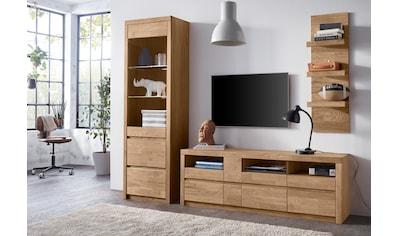 Woltra Wohnwand »Silkeborg«, (Set, 3 St.), teilmassives Holz kaufen