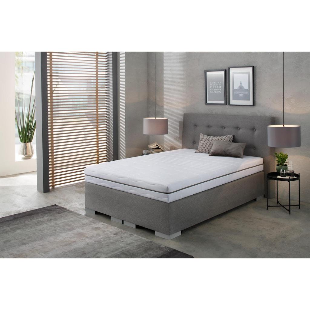 BeCo EXCLUSIV Komfortschaummatratze »Dream Flex«, 18 cm cm hoch, Raumgewicht: 28 kg/m³, (1 St.), Feiner, hygienischer Mikrofaser-Bezug