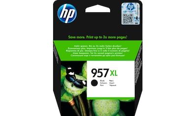 HP Tintenpatrone »hp 957XL Original Schwarz«, (1 St.) kaufen