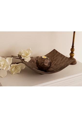 Myflair Möbel & Accessoires Dekoschale »Jennifer«, großbronze kaufen