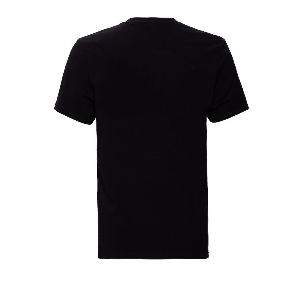 KingKerosin Print-Shirt »Two Singer«, mit detailliertem Print in der Front