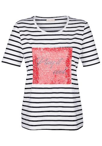Laura Kent Shirt mit wendbaren Pailletten kaufen