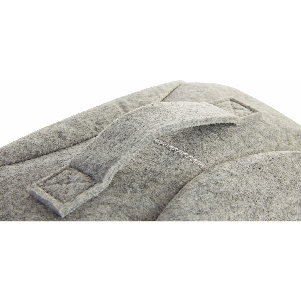 Zeller Present Tierkorb, Filz, 45x38x33 cm