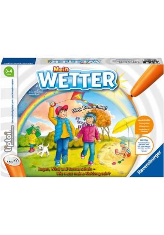 Ravensburger Spiel »tiptoi® Mein Wetter«, FSC® - schützt Wald - weltweit; Made in Europe kaufen