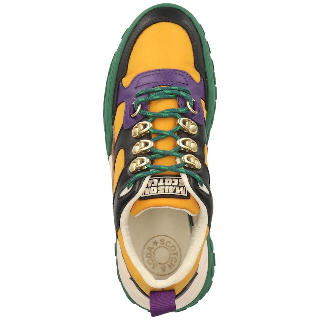 Scotch & Soda Sneaker »Leder/Textil«