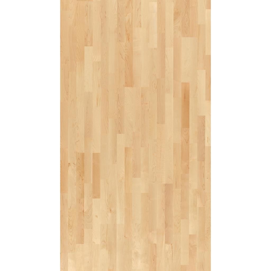 PARADOR Parkett »Basic Natur - Ahorn kanadisch, lackiert«, ohne Fuge, 2200 x 185 mm, Stärke: 11,5 mm, 4,07 m²