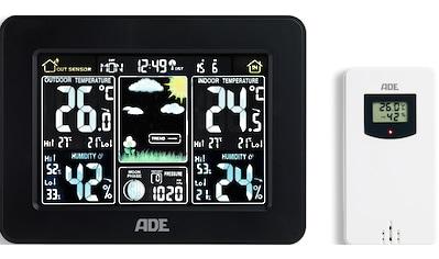 ADE Funkwetterstation »WS1503«, (mit Außensensor), Thermometer/Hygrometer mit Funk-... kaufen