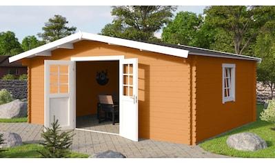 NORDIC HOLZ Gartenhaus »Nienstedten 3«, BxT: 496x396 cm kaufen