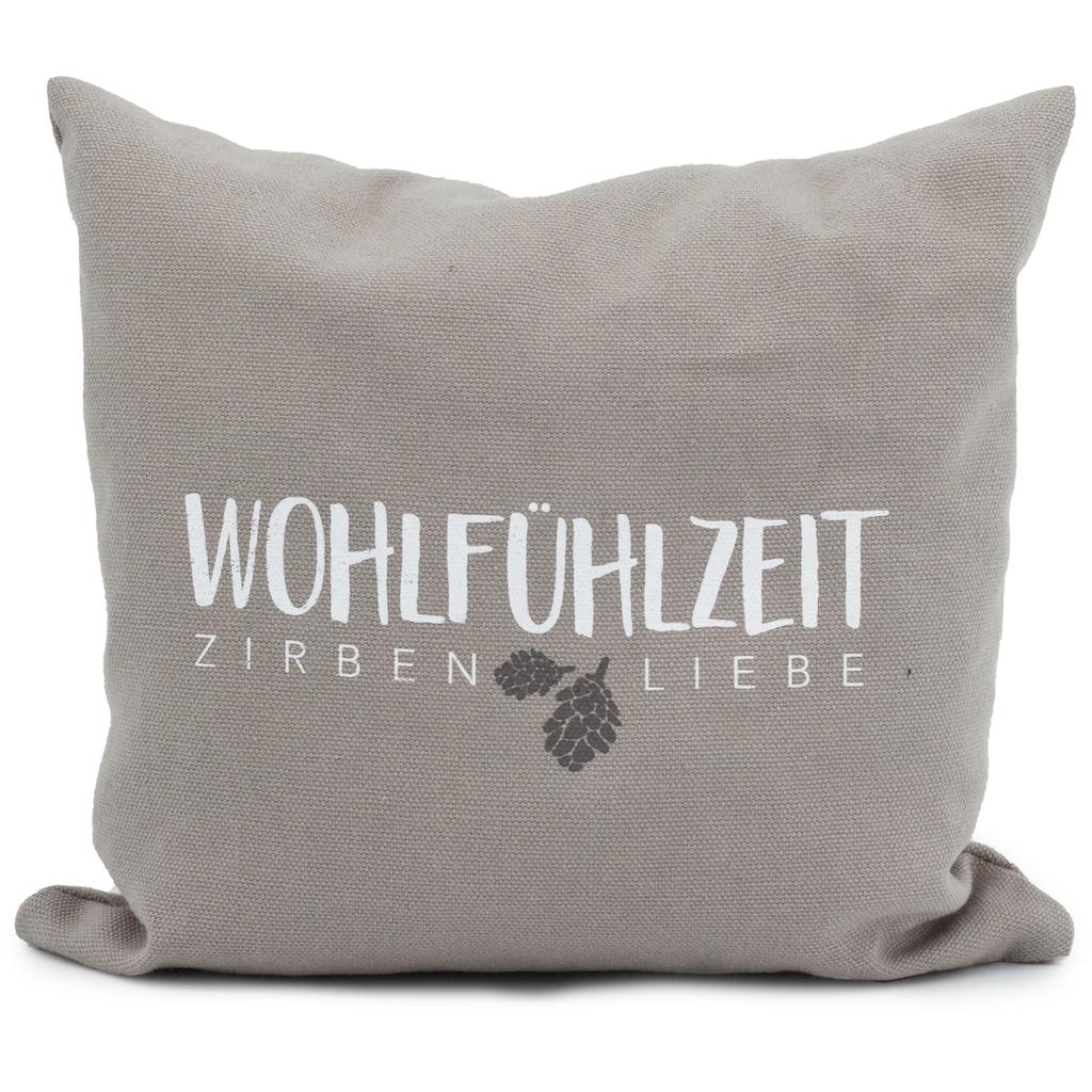 herbalind Zirbenkissen »5651 Zirbenkissen«, (1 tlg.), Entspannung und Wohlfühlen!