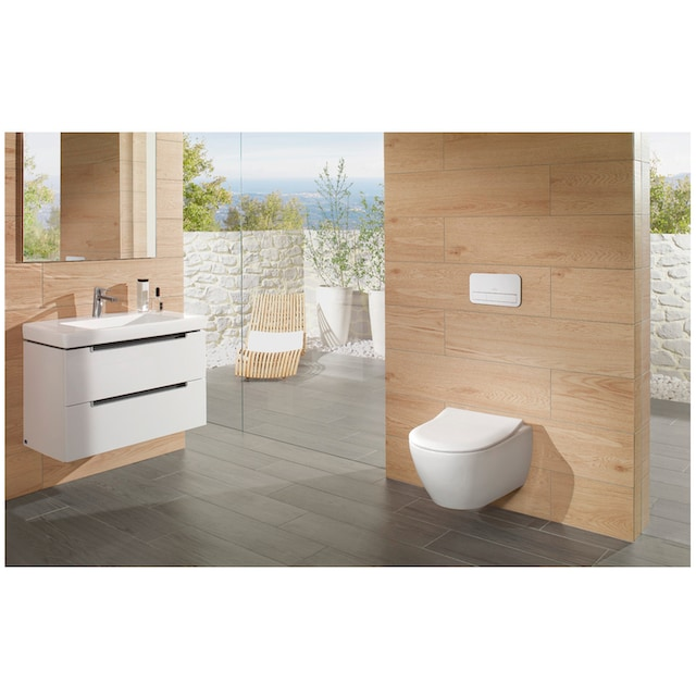 VILLEROY & BOCH Wand-WC »Subway 2.4«, CombiPack