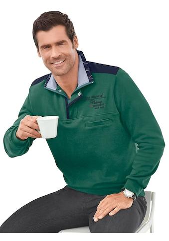 Marco Donati Langarm - Shirt aus reiner Baumwolle kaufen