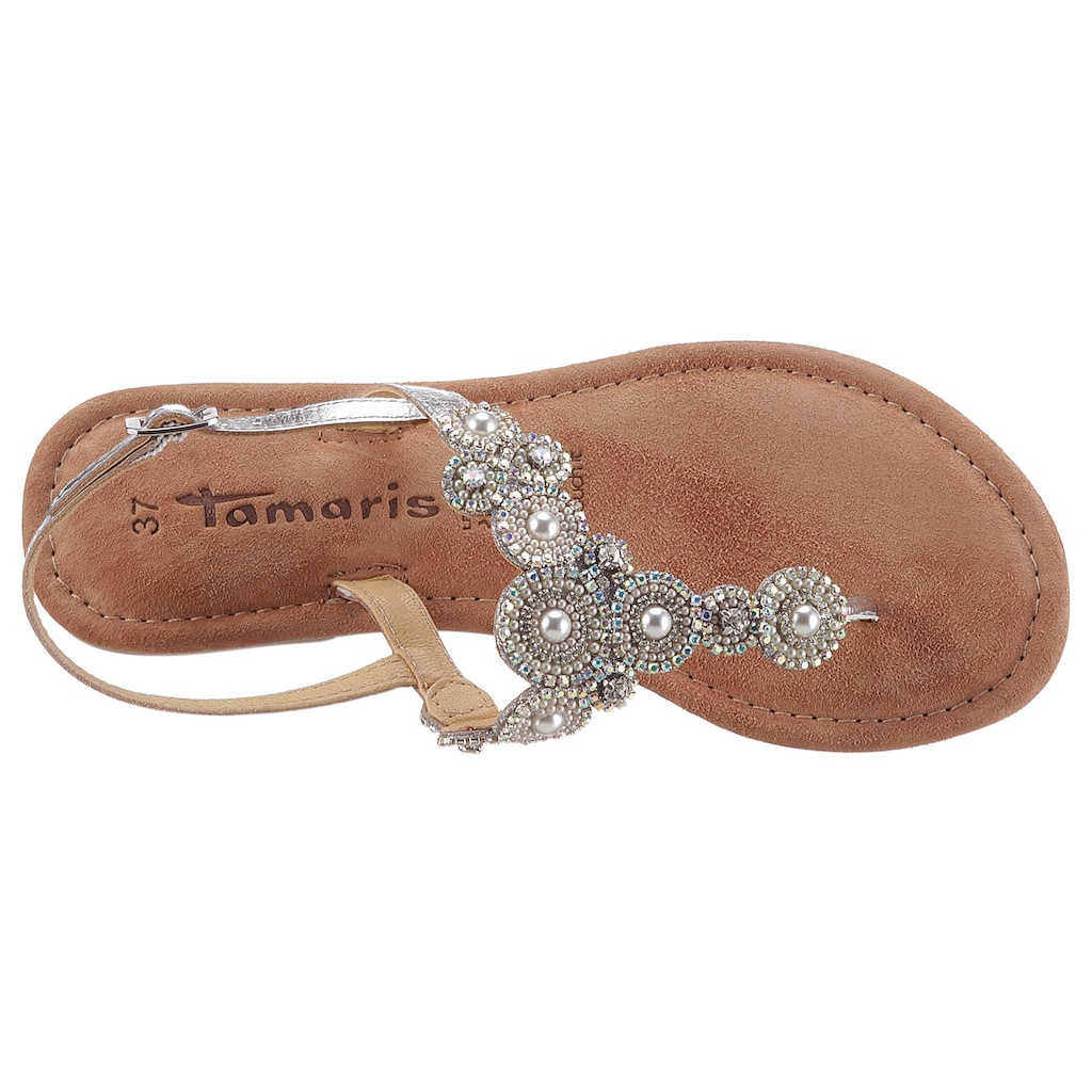 Tamaris Sandale »MINU«, mit funkelnder Verzierung