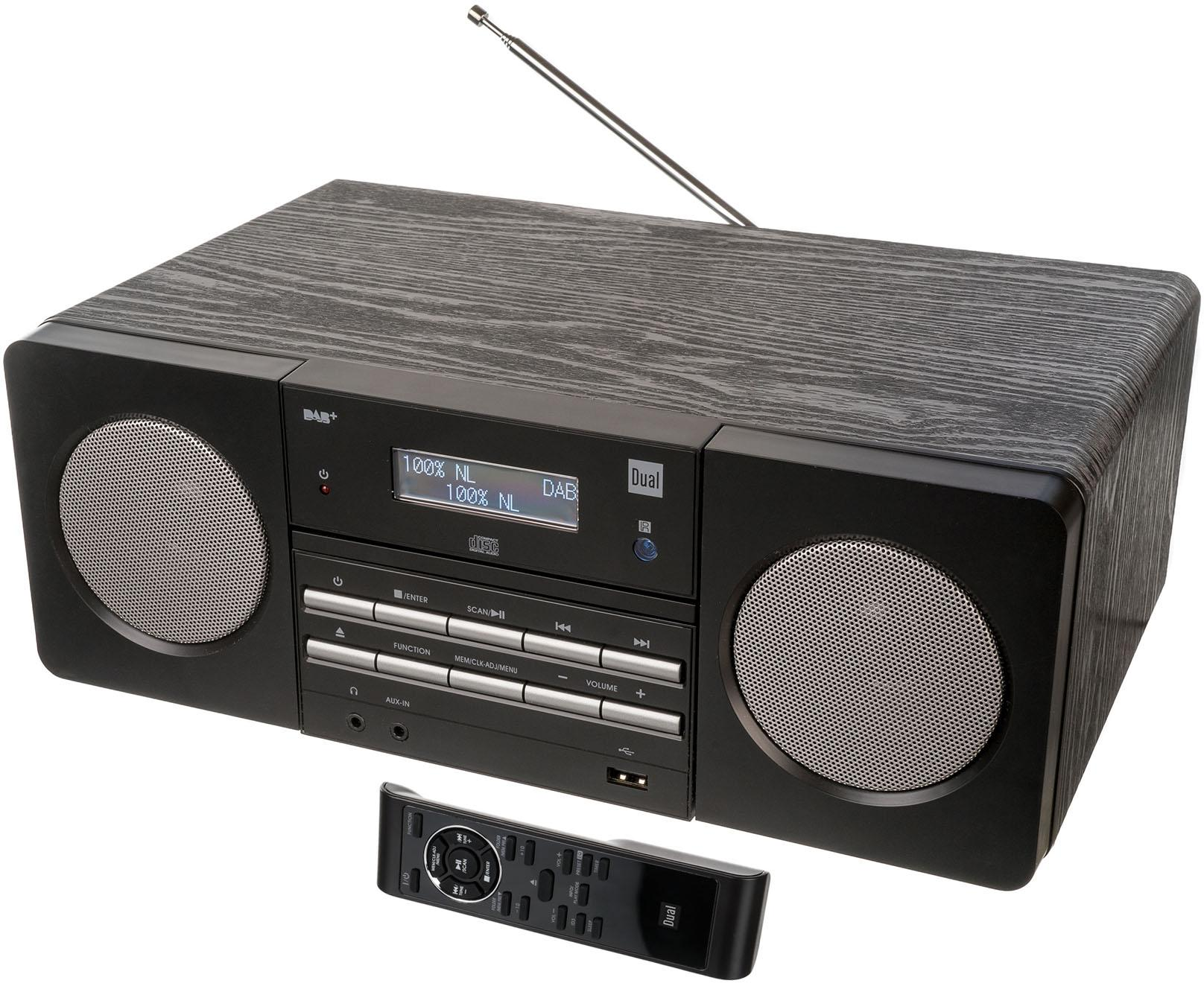 dual dab 410 microanlage digitalradio dab rds 1x usb baur. Black Bedroom Furniture Sets. Home Design Ideas