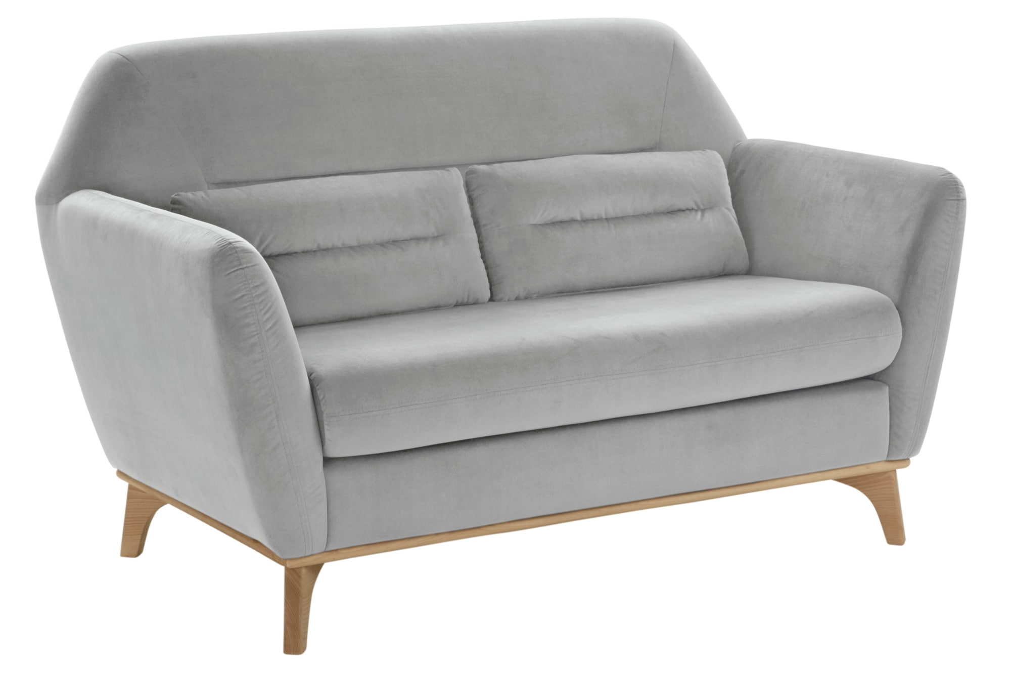 heine home Sofa Bezug in Samtoptik