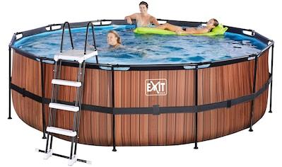 EXIT Framepool, (Set), ØxH: 450x122 cm, mit Kartuschenfilter kaufen