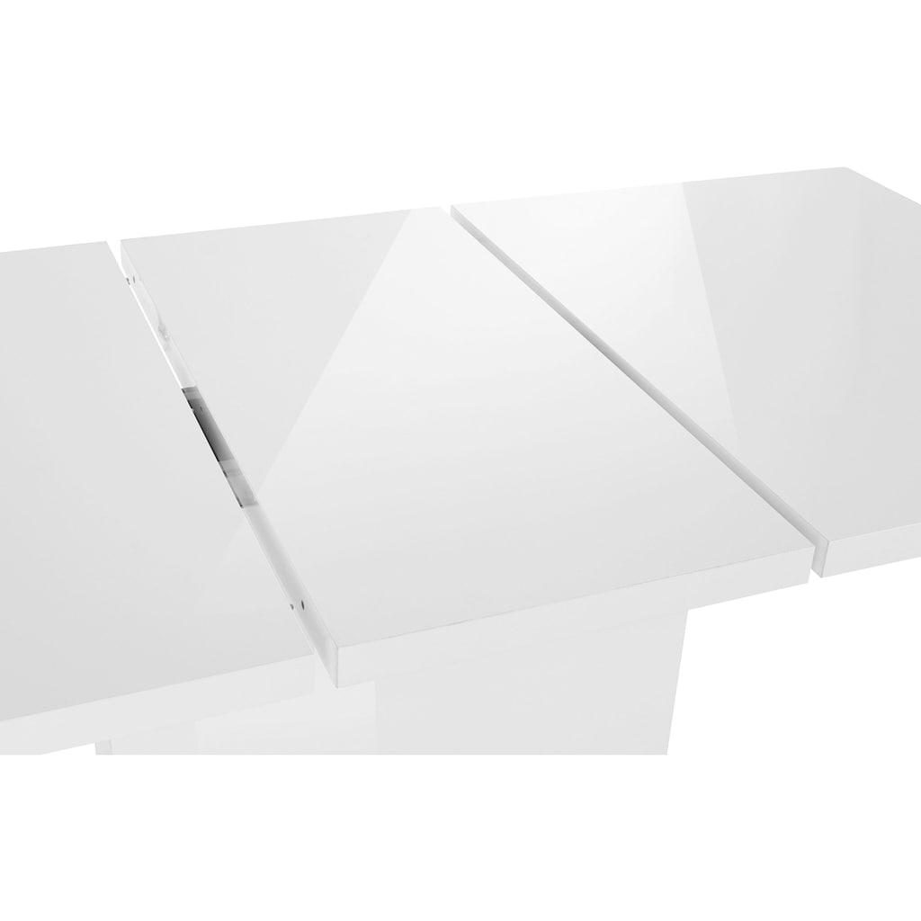 HELA Esstisch »WIEBKE«, Breite 120-160 cm