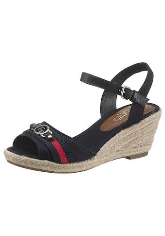 TOM TAILOR Sandalette, mit Schmuckelement kaufen