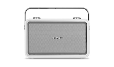 TechniSat Digitalradio (DAB+) »DIGITRADIO 225, weiß«, (A2DP Bluetooth-Bluetooth-NFC-AVRCP Bluetooth Digitalradio (DAB+)-UKW mit RDS 10 W) kaufen
