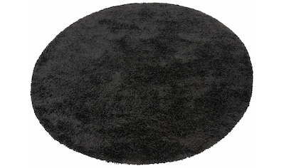 merinos Hochflor-Teppich »Denver«, rund, 50 mm Höhe, Wohnzimmer kaufen