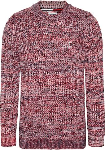 Tommy Jeans Strickpullover »TJM TWISTED MOCK NECK« kaufen