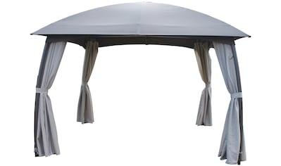 LECO Set: Pavillon »Milena«, BxL: 330x330 cm, mit Seitenteilen kaufen