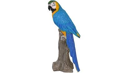 Casa Collection by Jänig Tierfigur »Papagei auf Stamm sitzend, Höhe ca. 61cm« kaufen