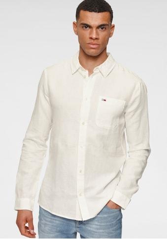 Tommy Jeans Leinenhemd »TJM LINEN BLEND SHIRT« kaufen