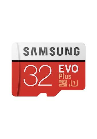 Samsung microSD EVO Plus + SD Adapter »Geeignet für 4K UHD Super Slow Motion Aufnahmen« kaufen