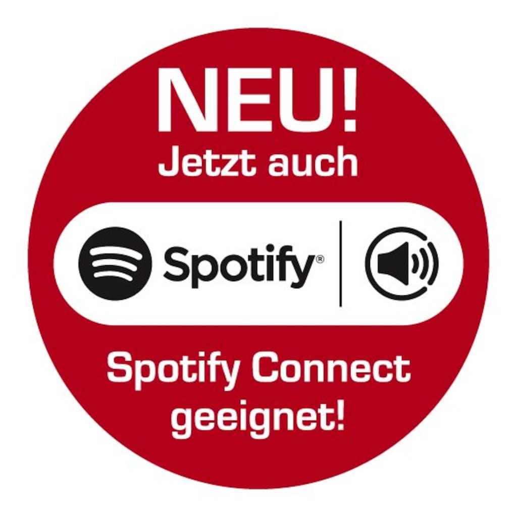 IMPERIAL Digitalradio für DAB+ & Internetradio (WLAN, UPnP, Spotify)