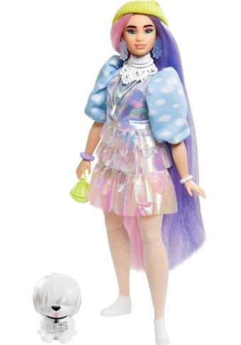 Barbie Anziehpuppe »EXTRA«, mit langen Pastell-Haaren und Hündchen kaufen