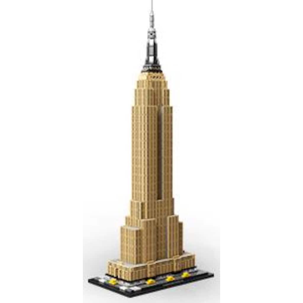 LEGO® Konstruktionsspielsteine »Empire State Building (21046), LEGO® Architecture«, (1767 St.), Made in Europe